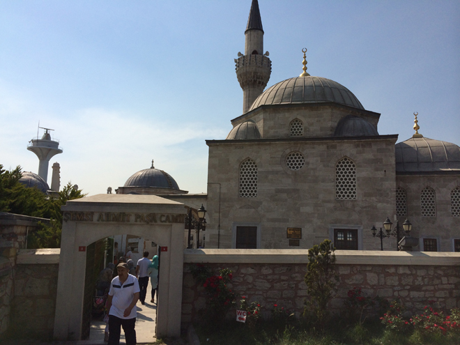 Semsi Pasha Mosque in Uskudar, Asian side