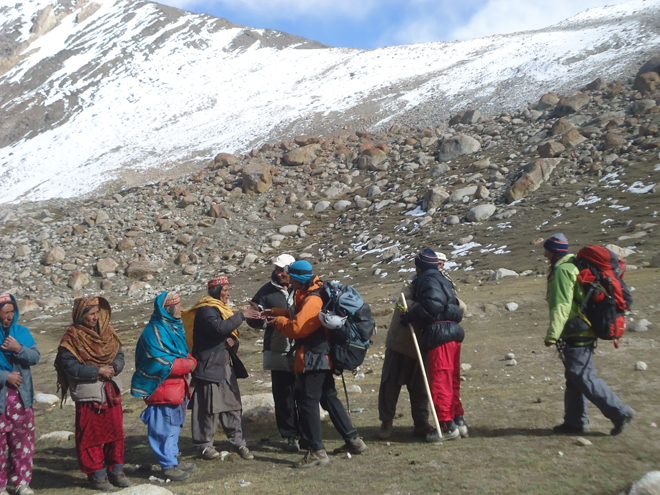 Pakistani Women Mountaineers from Shimshal and Hunza