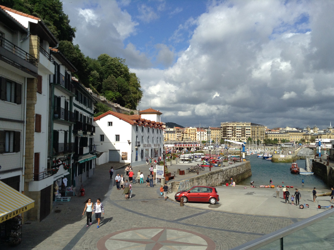 San Sebastian waterfront