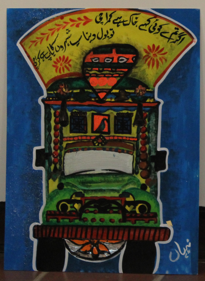 Pictures of Truck Art and Truck Paintings in Pakistan