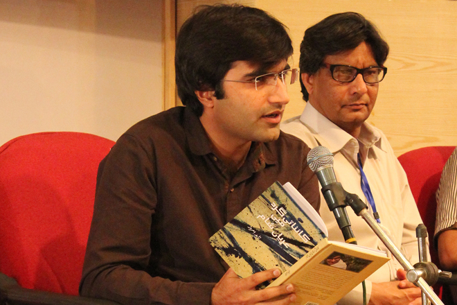 Zahid Amroz, a young emerging poet