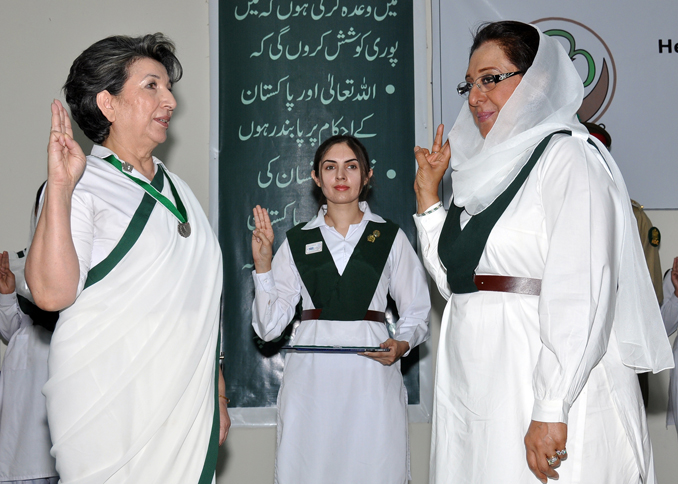 Pakistan's Girl Guides: Stronger than Pen and Sword