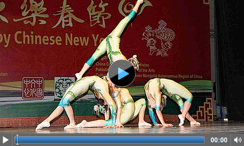 Chinese Spring Festival Show 2017 held at PNCA Islamabad