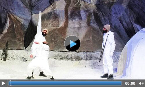 Watch Online Play Siachen by Anwar Maqsood and KopyKats