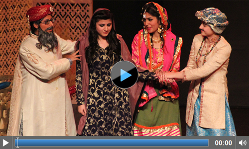 Youth Drama Festival 2015: Video of Play 'Jaaray Ki Daastan' by Fatima Jinnah Women University