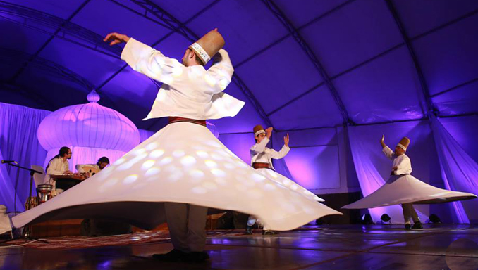 Whirling Dervishes from Turkey - 13th Mystic Music Sufi Festival in Islamabad