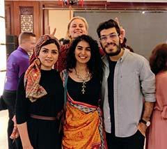 Natasha Humera Ejaz and Iman Shahid, Representing Pakistani Musicians at the SCOCYC