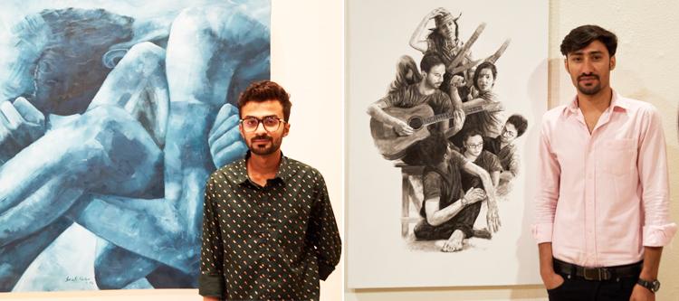 萨特朗画廊的年轻艺术家
