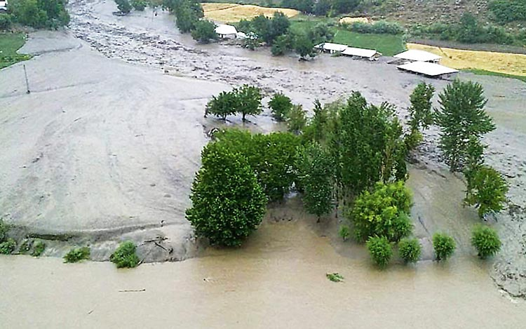 Floods in Chitral - 70 Years of Environment and Climate in Pakistan