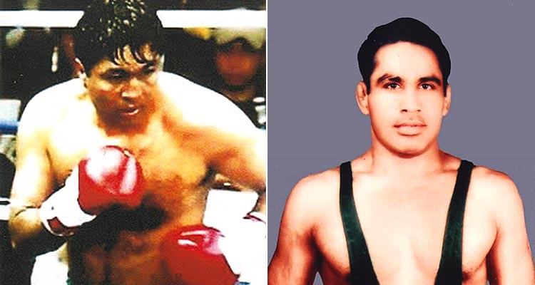 Forgotten Heroes: Olympics Bronze Medalists, Hussain Shah Boxing 1988, Mohammed Bashir Wrestling 1960