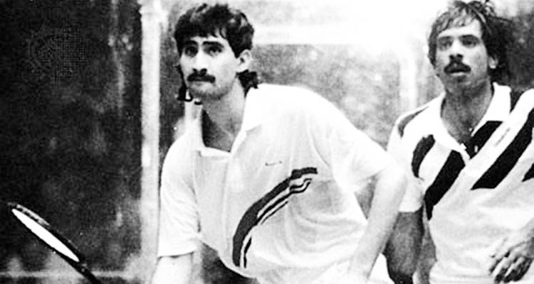 The undisputed Kings of Squash - Jansher Khan and Jahangir Khan