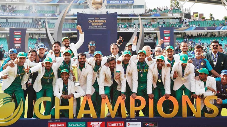 70 Years of Sports in Pakistan: Pakistan surprised the sporting world by  winning the ICC Champions Trophy this year