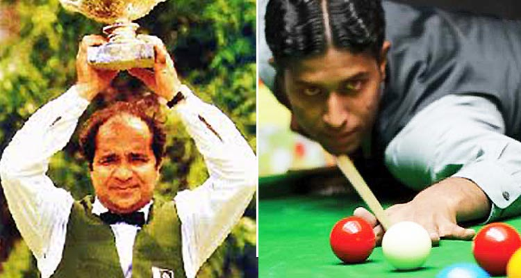 Winners of World Amateur Snooker Championship - Muhammed Yusuf in 1994 and Muhammed Asif in 2012