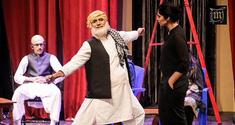 Mustafa Chaudhry as Maulana Fazal ur Rehman in Bananistan, a Kopykats Production