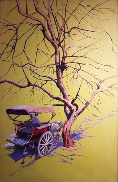 Ghulam Mustafa's 'Untitled'