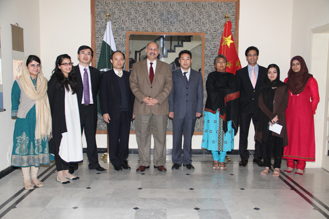 - PCI HOSTS CICIR DELEGATION FROM CHINA