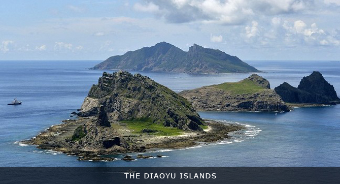 - THE DIAOYU ISLANDS AND GEOPOLITICS IN THE EAST CHINA SEA