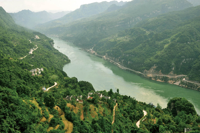 Yangtze River, China - Yangtze River, China