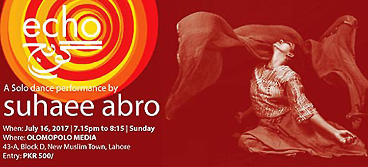 Goonj - Echo, a solo dance performance by Suhaee Abro - A Solo Dance Performance by Suhaee Abro