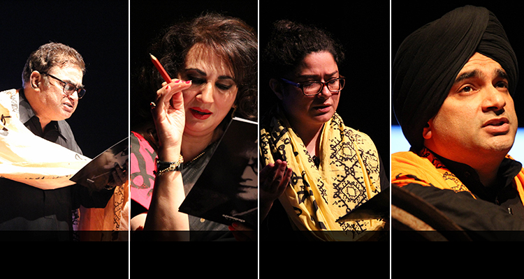 Irfan Khoosat, Feryal Gauhar, Sania Saeed and Sarmad Khoosat - Absolut Manto 2 by Olomopolo Media