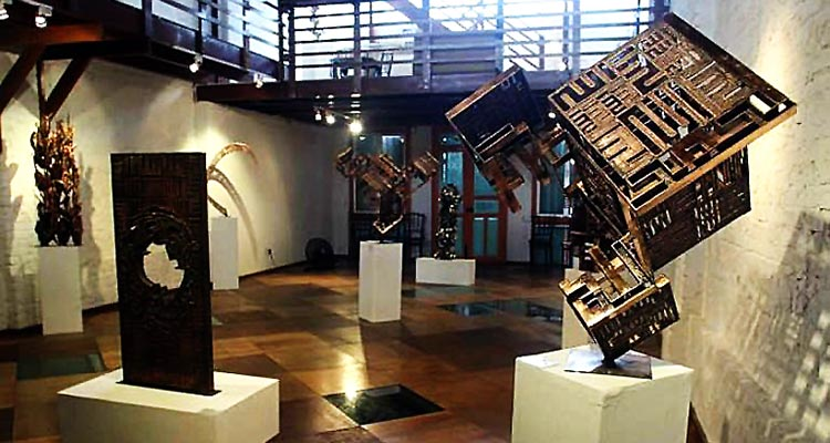 Amin Gulgee's sculptures on display - Amin Gulgee: A Pakistani Artist and Visionary