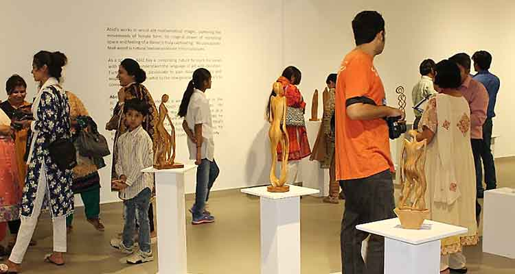 An Affair with Wood – Sculptures by Abid Larik at VM Art Gallery