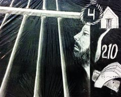 Art by Prisoners of Centeral Jail Karachi at French Cultural Centre