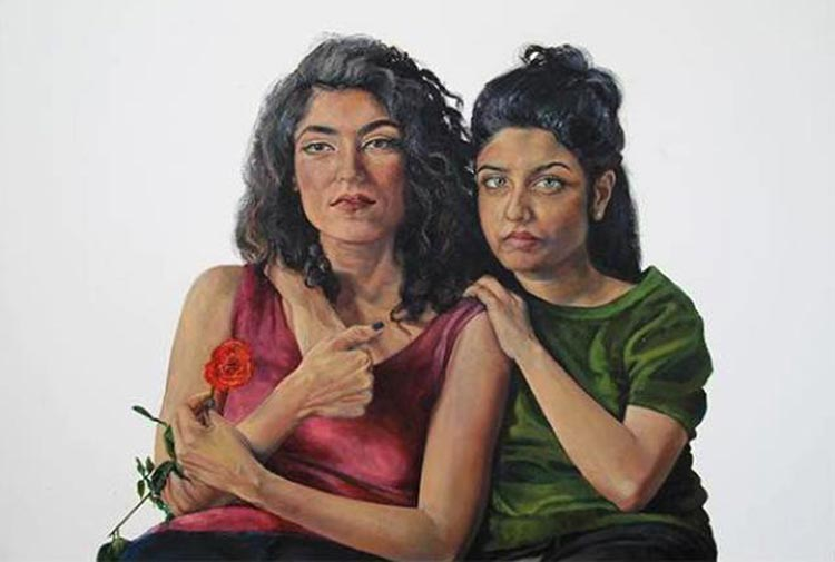 'Just Me and Her' - Amna Rahman - Art Review: Department Store at Sanat Initiative