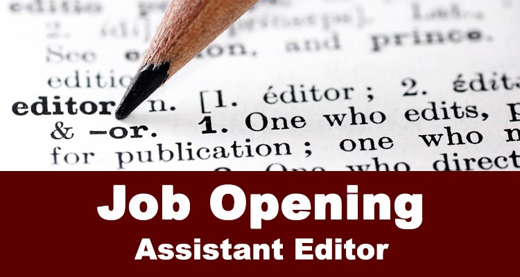 - Assistant Editor Job in Islamabad
