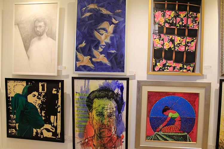巴德伊萨巴:信德省艺术家在艺术画廊的展览