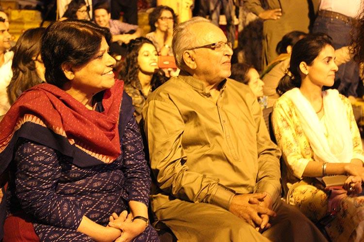 Kishwar Naheed and Aqsi Mufti