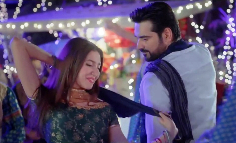 Bin Roye: Mahira Khan as 'Saba' and Humayun Saeed as 'Irtiza' - Review of Film Bin Roye