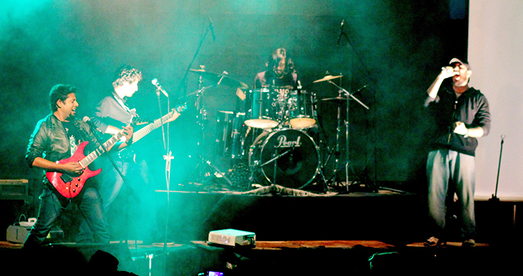 Blackhour in concert - Blackhour Album Launch in Islamabad