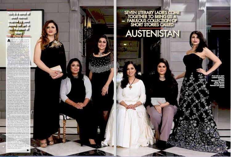 Laaleen Sukhera, Gayathri Warnasuriya, Nida Elley, Saniyya Gauhar, Sonya Rehman and Mahlia Lone