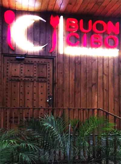 Buon Cibo Restaurant Karachi Food