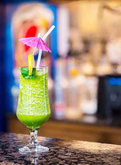 Flying Mint Mocktail - Buon Cibo Restaurant Karachi Food