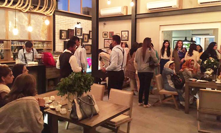 Interior of 'E Street Mews' - Cafe E Street Mews, Karachi