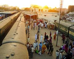 Cantt Railway Station Karachi