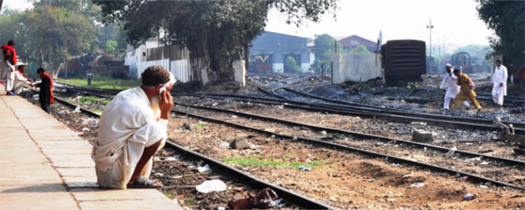 Karachi Cantonment Railway Station - Cantt Railway Station Karachi