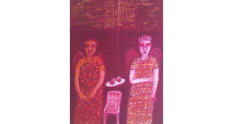 Meher Afroz - Acrylic on Board - Celebrating 70 Years of Pakistani Art