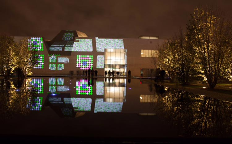 Celebrating 70 Years of Pakistani Art - aisal Anwar's Installation 'Charbagh, A Sensory Garden' (2016)