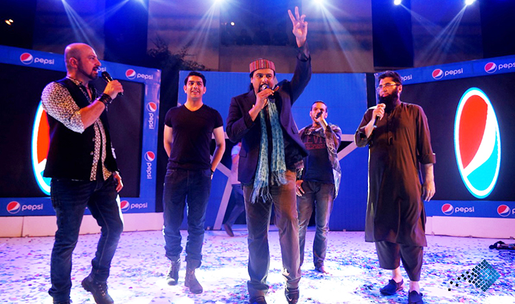 The legends reunited on stage - Chamke Hum Se Pakistan at LUMS