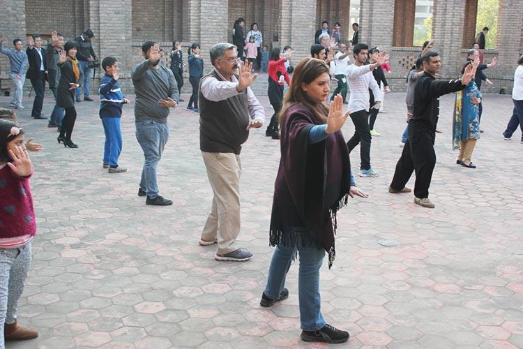 PNCA的中国文化中心举办水墨画教学开办仪式