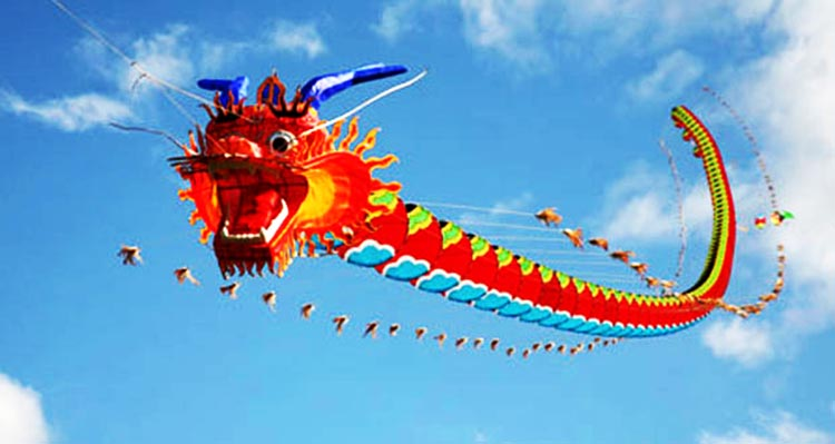 Exhibition of Chinese kites in Islamabad (source: Twitter/Ch. Amjad Farooq) - Chinese Kite Exhibition in Islamabad
