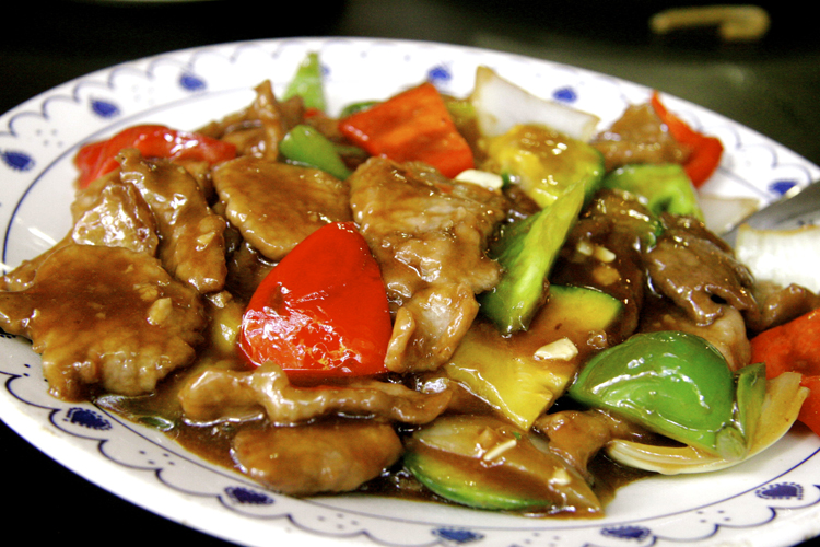 Chicken with Oyster Sauce - Chinese Restaurant Dumpling Zhang