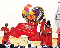 Chinese Spring Festival Celebrated in a Colorful Ceremony at NUML