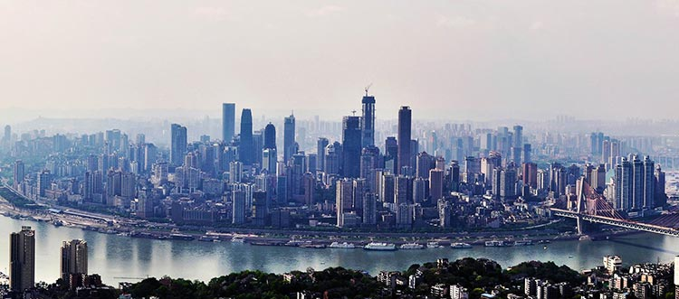 Chongqing, a modern city on the Belt and Road (source: Thousand Wonders) - Chongqing: A City on the Belt and Road