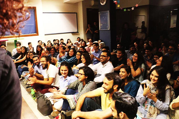 The crowd - Comedy Group The Khawatoons Celebrate their First Anniversary