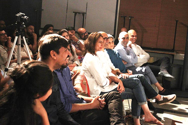 The audience at the Comedy Show 'Bachay Panch Hi Achay' in Karachi