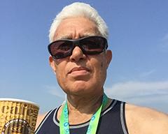 Saqeb Lone Athlete, Marathon Runner